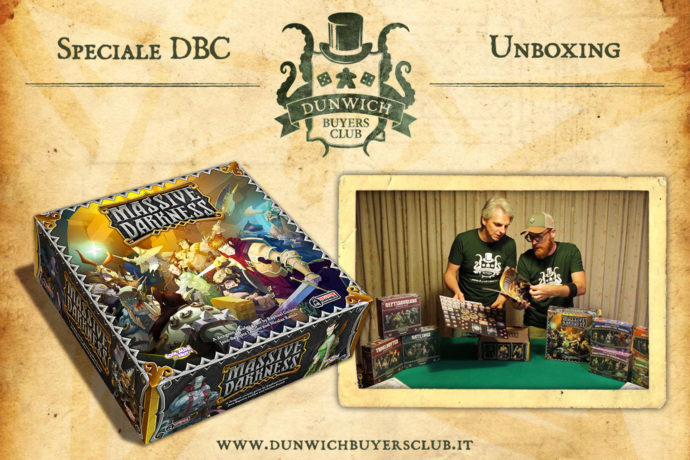 Dunwich Buyers Club - Unboxing Massive Darkness