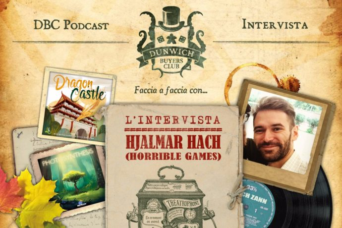 Dunwich Buyers Club intervista Hjalmar Hach Lead Game Designer di Horrible Games