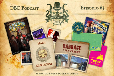Episodio 63 – Roll Player, MaC's RPG Digest, Barrage, Party Game Trio