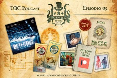 Episodio 93 – Detective, Patreon of the week, Sensei's Path e Way of the Wind, BGG Top 50