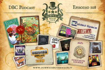 Episodio 108 – Jaipur vs Funghi, Best of Origin 2019, Kickstarter Round-up, Folded Space report