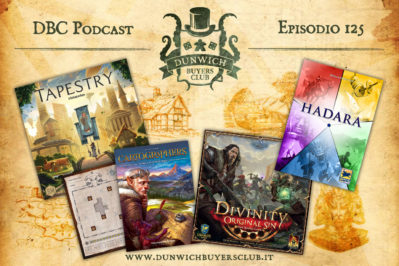 Episodio 125 – Tapestry, Cartographers, Divinity: Original Sin, Hadara