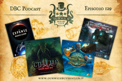 Episodio 129 – The Expanse, Cthulhu: Death May Die, Nemo's War, Mystery House