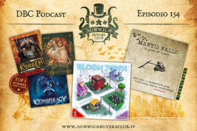 Episodio 154 – Top 3 giochi di carte per le vacanze, Bloom Town, Mantis Falls