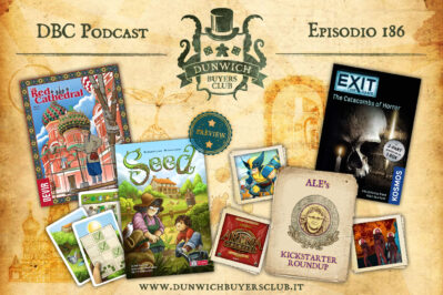 Episodio 186 – The Red Cathedral, Seed, Top 3 Kickstarter in partenza, EXIT: Le Catacombe della Paura