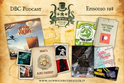 Episodio 198 – Pax Viking, RPG Digest, SpeciAle Estate, Cinque Cetrioli